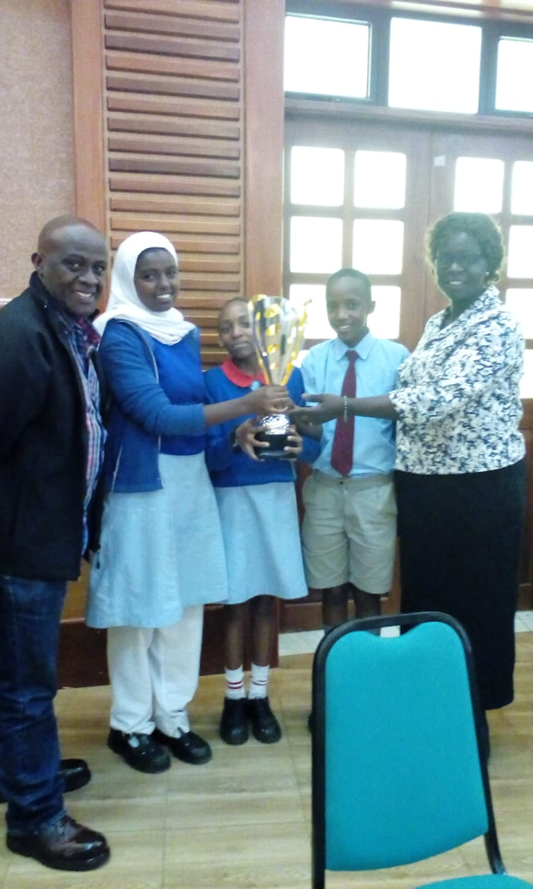 TOP Center Karura Forest primary school: most promising innovators